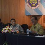 3 - Dr Eddy Sutaji (Paling Kanan) dari LP3 memberi pemaparan materi sebagai narasumber