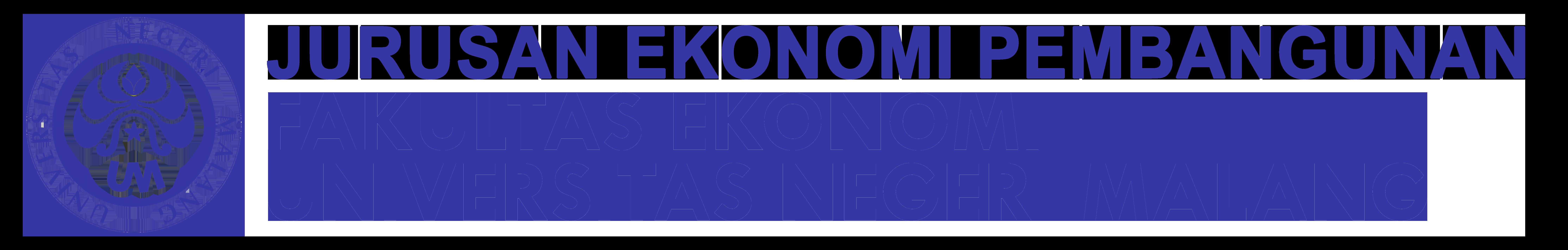 Jurusan Ekonomi Pembangunan Fakultas Ekonomi