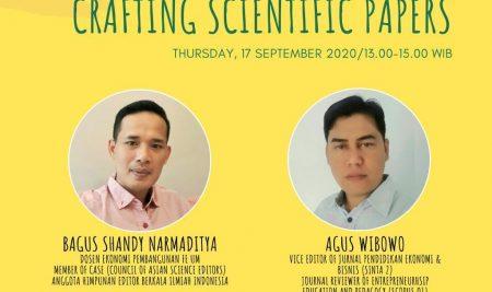 Webinar Crafting Scientific Papers