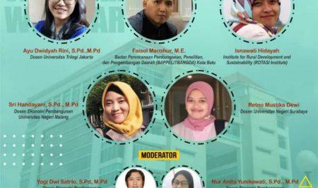 Webinar Ekonomi Pembangunan dan Alumni Talk