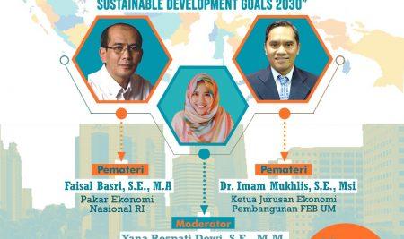 WEBINAR NASIONAL 2020: Pandemi Covid-19 Menjadi Tantangan Pencapaian Target Sustainable Development Goals 2030