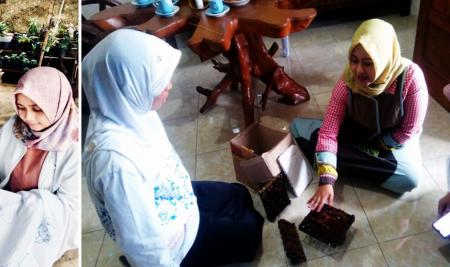 Sentuhan Teknologi, Tingkatkan Produktivitas UMKM Batik