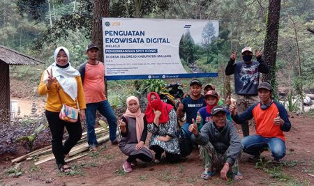 Tim Pengabdian UM, Revitalisasi Wana Wisata Bedengan
