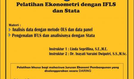 Pelatihan Ekonometri dengan IFLS dan Stata