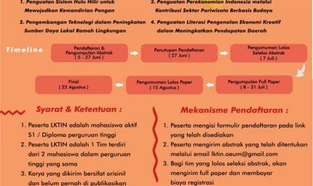 Lomba Karya Tulis Ilmiah Nasional 2021