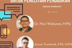 Workshop analisis kuantitatif pendidikan